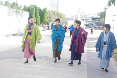 森ノ宮駅から大阪城へ