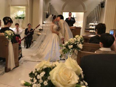 仕事仲間の結婚式